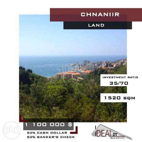 Hot Deal in Chnaniir. Sea and mountain view Land. REF#WT38010