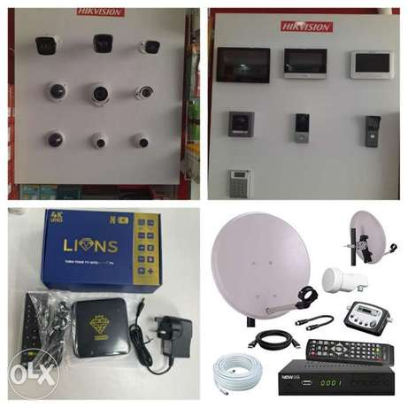 We do all type of CCTV Camera Hikvision HD Turbo Ip camera Networki