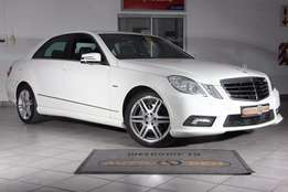 2010 Mercedes Benz E250 CDi AMG Only 84 000km!!!