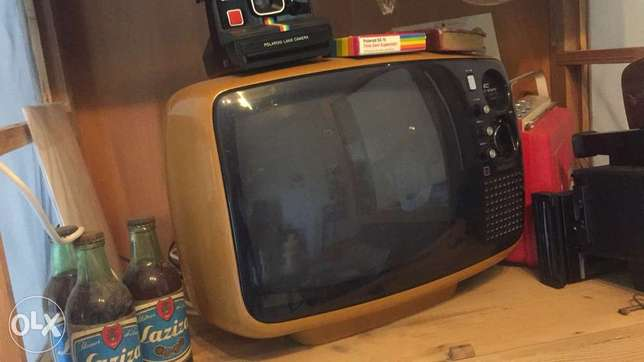 National 1950's color TV