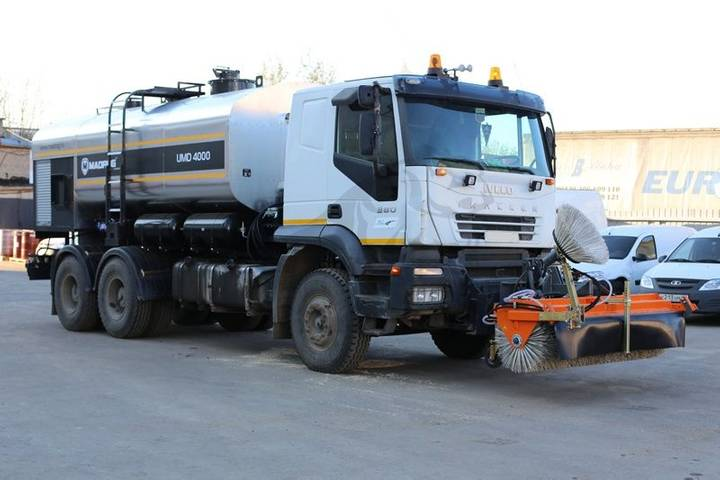 MADROG UDM road sweeper