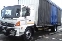 neat and just arrive hino 500 curtain sides 8 tonne for sale