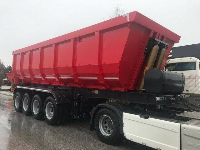 Stahl ozgul 4 achser mulde, 46m³, 16 reifen, - 2019 - image 2