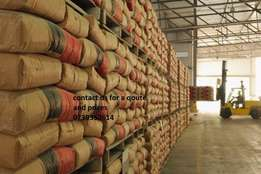 Cement,corrugated zinc,cement and bricks for sale