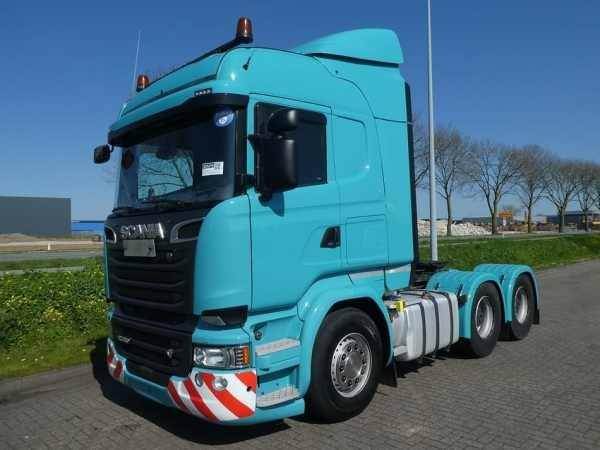 Scania R580 Highline 6x4 E6 / Leasing - 2014