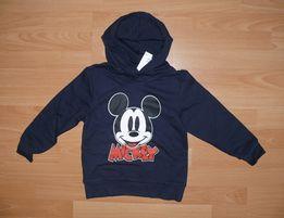 3f0e7e86ec9c79 NOWA bluza Myszka Miki H&M 110/116 Mickey granat