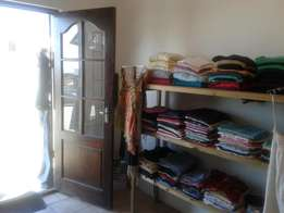 2nd hand clothing shop