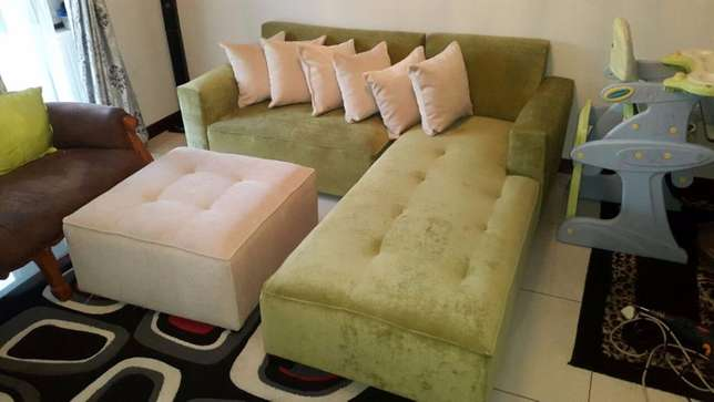 The jozi l-shape,choose your fabric and colour Midrand - image 6