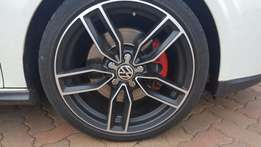 Audi S3 Alloy Mags and Tyres (Replica - 18' 5 x 112)