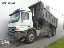 Mercedes-Benz Actros 3336 6x4 Eps Full Steel Hub Reduction Eur
