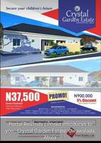 Plot of land at Crystal Garden Estate, GWAGWALADA - ABUJA, #900K