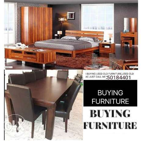 we.. buying damage A.C I buying all furniture