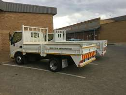 Available transport for goods removal