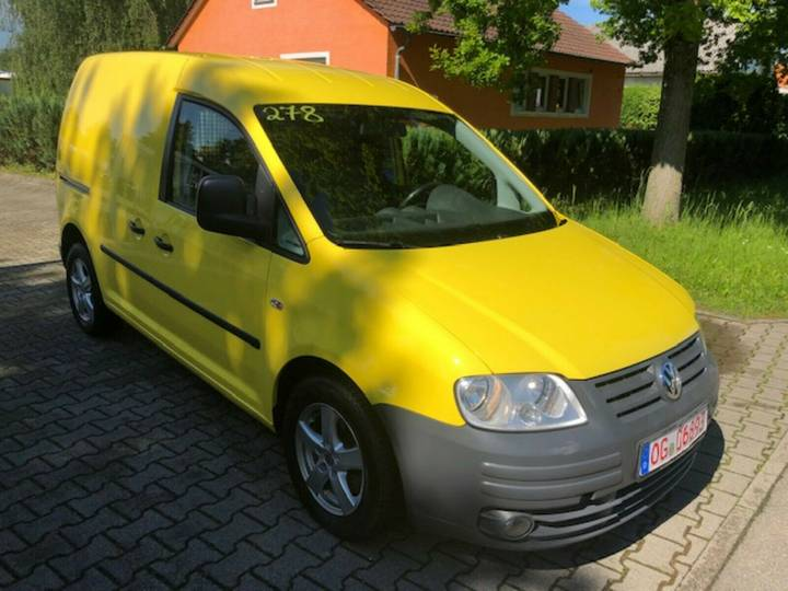 Volkswagen Caddy Kasten BlueMotionTech - 2010