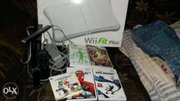 Wii console plus games to swap for what you have to offer.