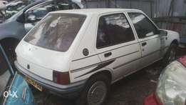 Peugeot 205, manual, 1000cc, accident free and in good condition