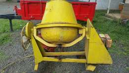 Buy a concreate mixer and a front dumper both slightly used in UK