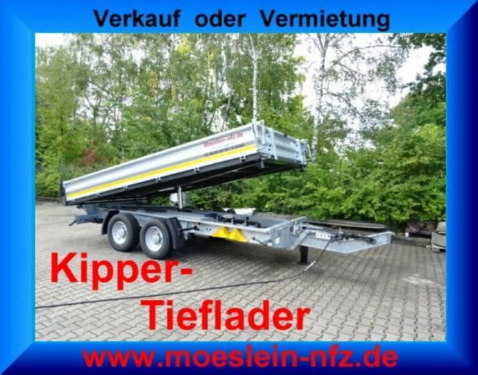 Möslein TTD 13 Verzinkt 13 t Tandem 3- Seitenkipper Tief - 2019