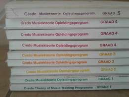 Credo Music theorybooks