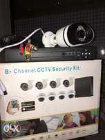 HD 8 channel cctv security kit |