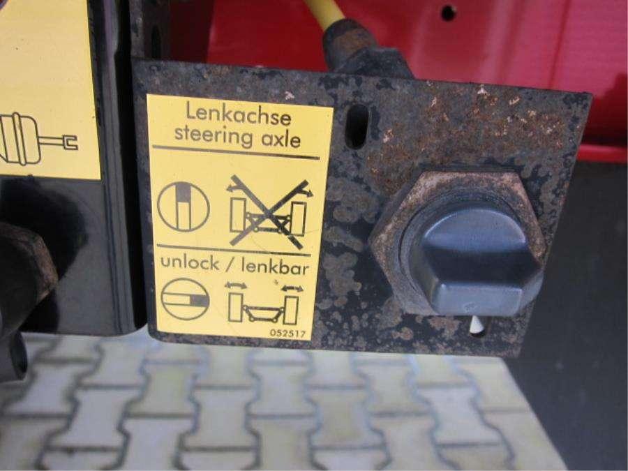 Schmitz Cargobull SO1 Coil Stuuras/Steering/Lenkachse - 2008 - image 5