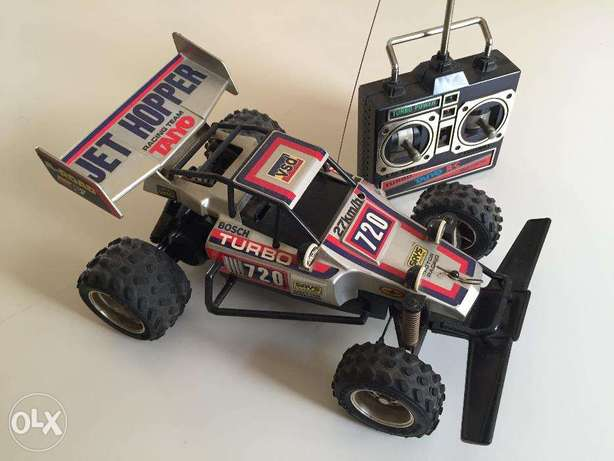 1:18 scale Tyco Turbo Mini Hopper RC buggy
