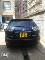 Toyota Harrier 2010 Black at pre duty increase price