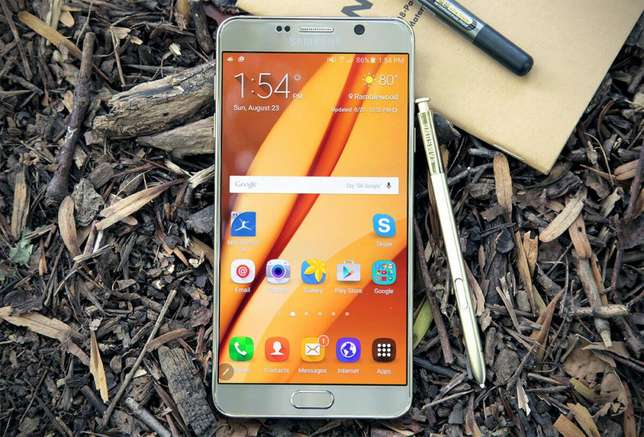 Samsung Galaxy Note 5 64gb Brand new and sealed Original with warrant Nairobi CBD - image 1
