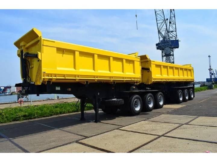 TMH - B-DOUBLE SIDE DUMPER TRAILER 150.000 KG - 2019