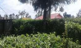 Quarter plot for sale at zaburi/kiamunyi