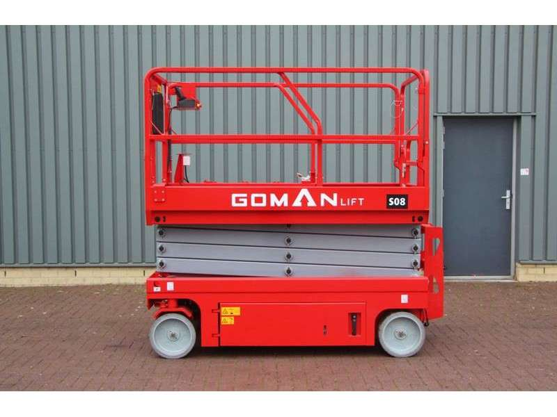 Gomanlift S08 NEW / UNUSED, 10 m Working Height - 2017