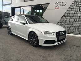 2016 S3 Sportback Quattro 210KW S-tronic only 12125kms