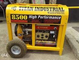 Titan TG 8500 Watt Industrial Portable Gas Generator