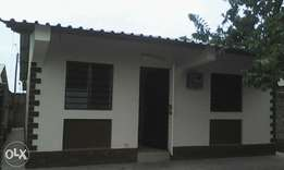 2 bedroom bungalow at kiembeni to let