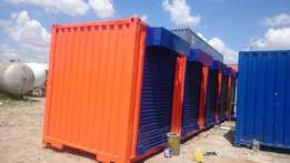 40ft Containers Stalls