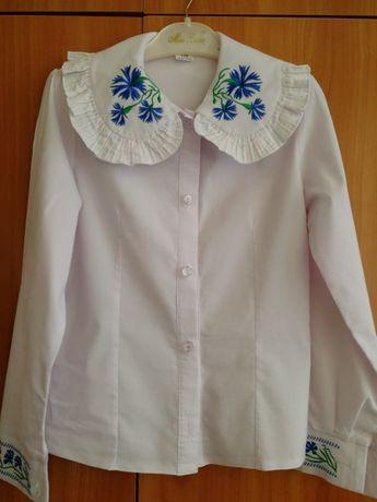48bc284efc3 Школьная блузка для первоклассницы