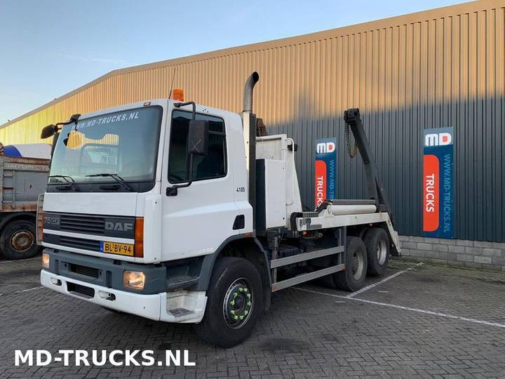 DAF CF 75 290 manual 6x2 steel NL - 2001