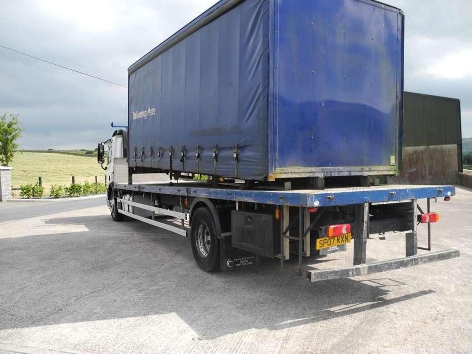 DAF 65 220 platte vrachtwagen - image 4