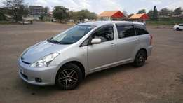 Toyota wish model 2003 UBB/H in excellent condition