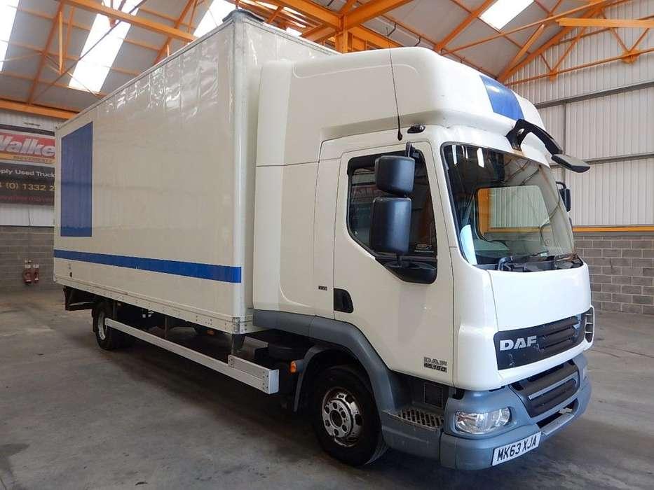 DAF Lf45 4 X 2 Euro 5 7.5 Tonne Box - 2013 - Mk63 Xja - 2013