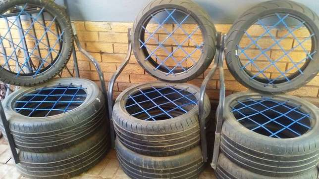 Set of tyre chairs Pretoria West - image 3