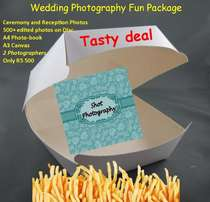 Professional Fun Wedding Photography Package