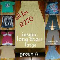 Lady clothes size 14