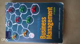 introduction to business management 9th eddition