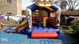 Bouncing castle, water pool, pedal boats and water rollers 4 hire