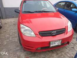 Registered Toyota Mtrix 2003