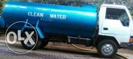 Supply of soft safe clean water tanker (bowser )
