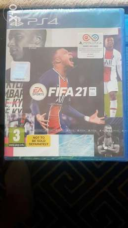 New Fifa 21 ps4 international version not used