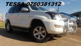 2008 Toyota Prado 4.0 V6 Auto 4X4 7 Seater in Great allround condition