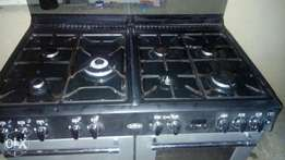 7 burners free standing gas cooker imported from uk